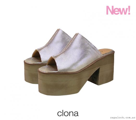 661d684acb0 Clona Primavera Verano 2016 Zapatos Metalizados - Amatcard.co