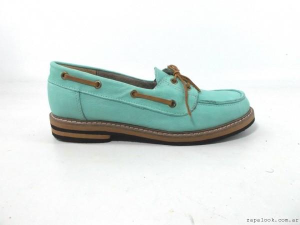 mocasin aqua verano 2016 - Magali Shoes