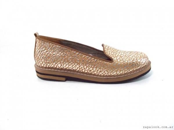 mocasin metalizado verano 2016 - Magali Shoes