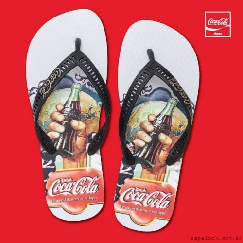 ojota Coca Cola Shoes verano 2016 2
