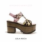 Lola Roca – Sandalias con plataformas verano 2016