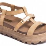 sandalias beige con plataformas - Traza primavera verano 2016