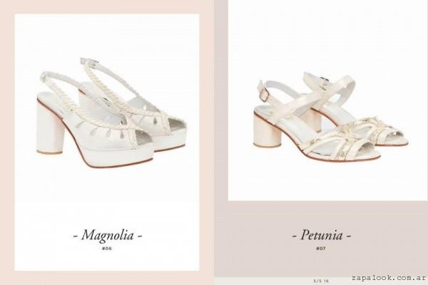 sandalias para novias - Lomm primavera verano 2016