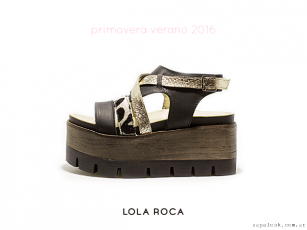 de7f602b0 sandalias plataforma de madera verano 2016 – Lola Roca – Zapalook