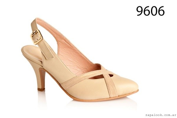 stilettos crema verano 2106 - Alfonsa BS AS