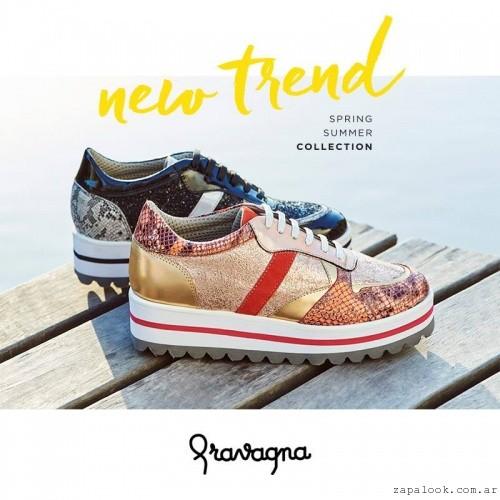 zapatillas con plataforma primavera verano 2016,Mundo Terra 2017