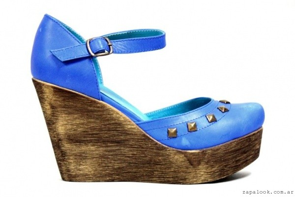 Zapatos azules de verano GExr4
