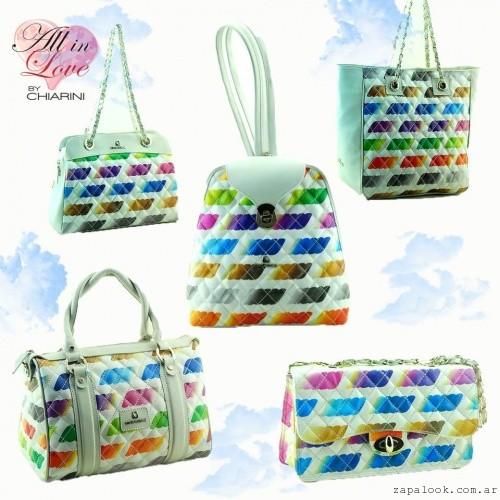 Chiarini - mochilas y cartera multicolor verano 2016