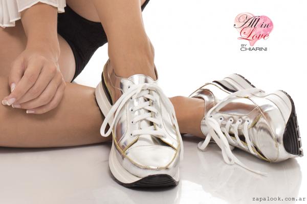 Chiarini - zapatillas metalizadas verano 2016