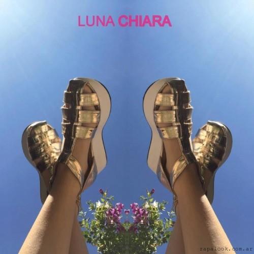 Luna Chiara - planas doradas primavera verano 2016
