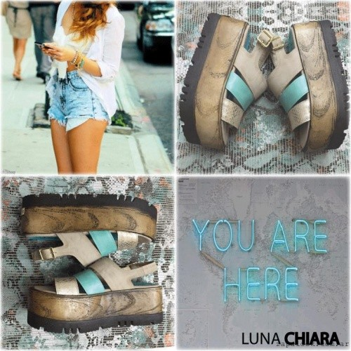 Luna Chiara - sandalias planas mutiples tiras primavera verano 2016