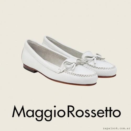 Maggio Rossetto - mocasines blancos verano 2016