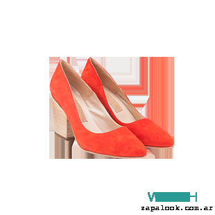 Maggio Rossetto - stilettos naranjas verano 2016