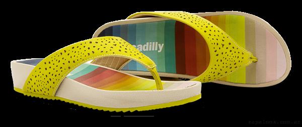 Piccadilly primavera verano 2016 - ojotas amarillas