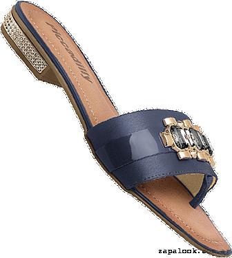 Piccadilly primavera verano 2016 - sandalias chatitas azul