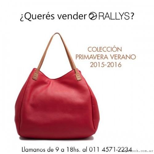 Rallys - bolso rojo primavera verano 2016
