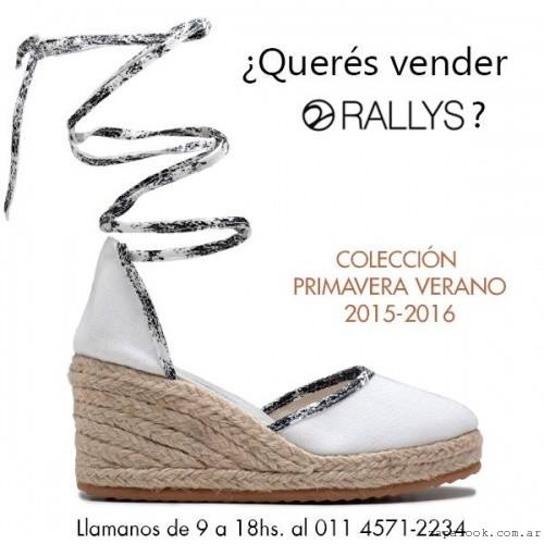 Rallys - calzado base yute primavera verano 2016