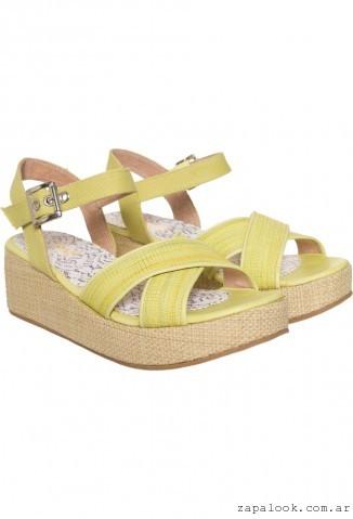 Sofi Martire - sandalias amarilla verano 2016