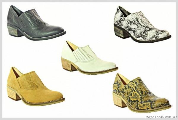 zapatos texanos verano 2016  - Calzados TOPS verano 2016