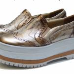 Carina Iribarren – calzados verano 2016 – Metalizados y animal print