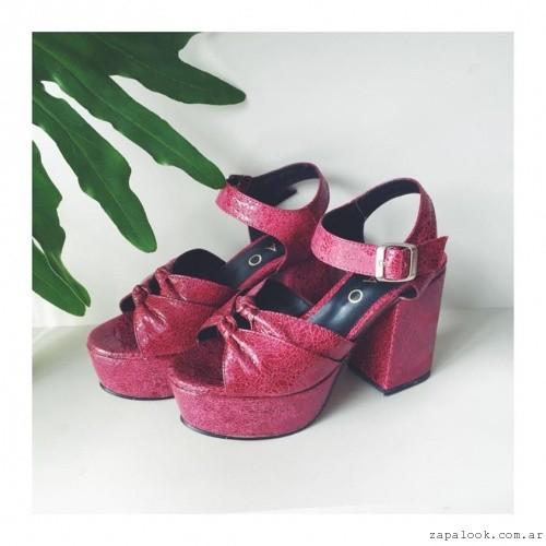Chao Shoes - sandalias rojas verano 2016