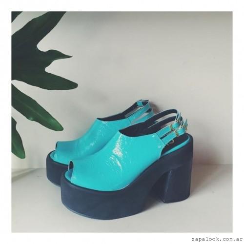 Chao Shoes - sandalias turquesa verano 2016