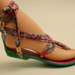 Dominicanas – sandalias de tela estampadas 2016