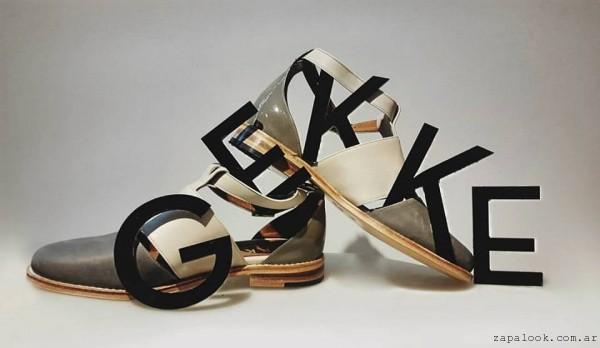 Gekke - coleccion verano 2016 calzados