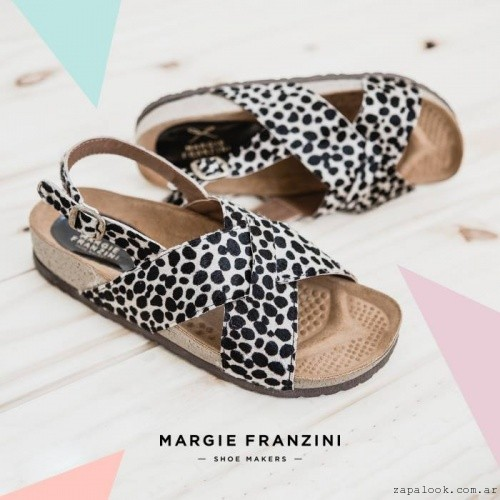 Margie Franzini Shoes - chatitas cruzadas animal print verano 2016