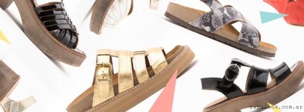 Margie Franzini Shoes - sandalias verano 2016 - metalizadas y charol