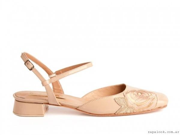 SALMAN Calzados - zapatos flor ecnaje verano 2016
