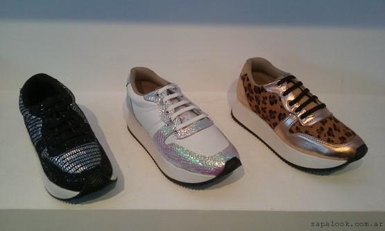 Salvame Maria zapatillas metalizadas y animal print verano 2016