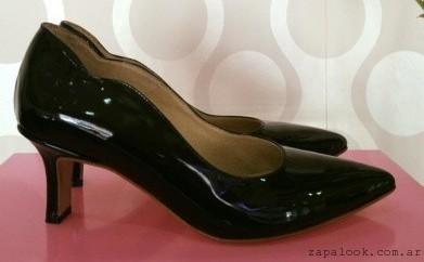 Stilettos negros de charol - Gemmes verano 2016