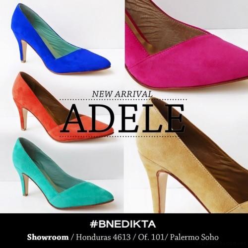 Bnedikta - stilettos de colores gamuzados verano 2016