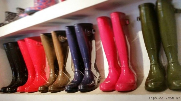 botas de lluvias lisas colores intensos  - seco rainwear