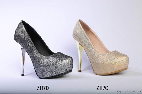 Micheluzzi – Zapatos de fiesta taco fino y alto invierno 2016 ... 42277f9a2b3