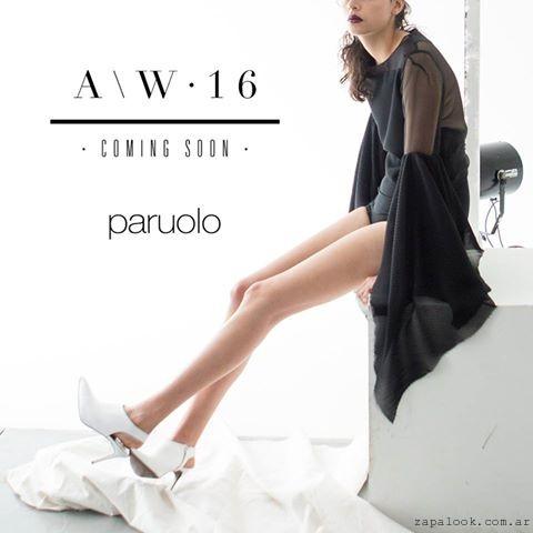 Paruolo zapatos blancos AW2016