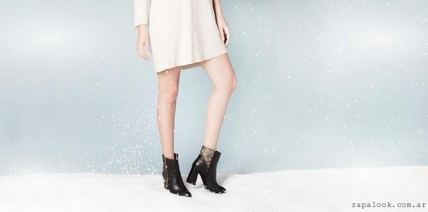 Praxis Zapatos - botinetas con taco invierno 2016