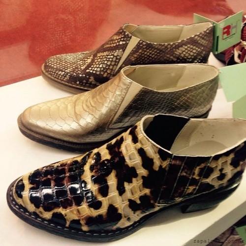 RH by Lali Ramirez - zapatos en punta con elastico  otoño invierno 2016