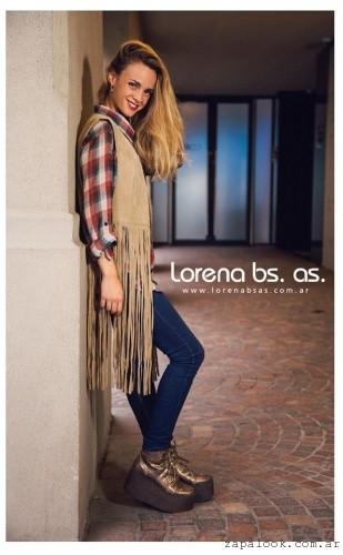 Zapatos dorados acoronados con plataformasinvierno 2016 Lorena Bs As