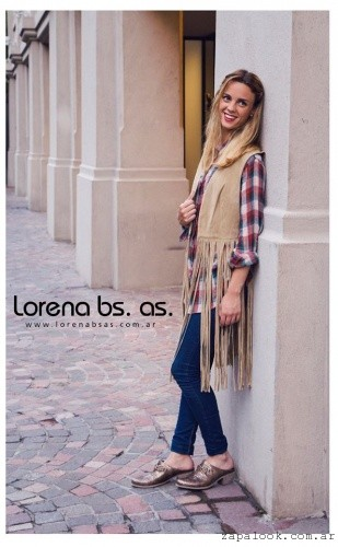 Zapatos metaliados invierno 2016 Lorena Bs As