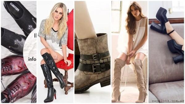 anticipo colecciones argentinas calzados otoño invierno 2016