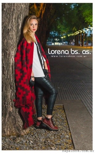 borcegos bordo invierno 2016 Lorena Bs As