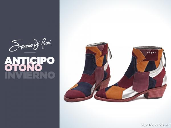 Saverio Di Ricci - botinetas con recortes invierno 2016
