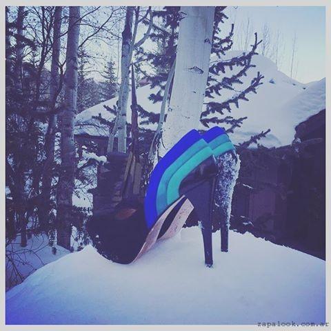 Zapatos multicolores de fiesta Valdez invierno 2016