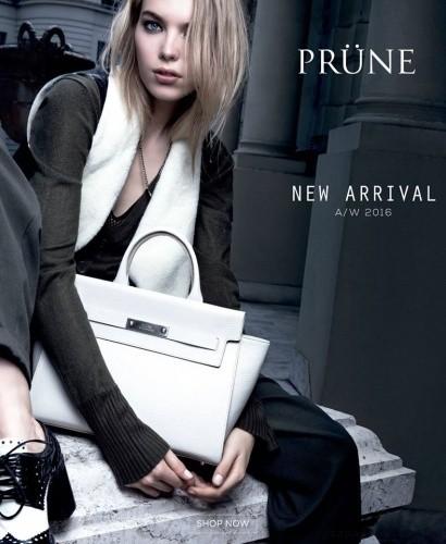 cartera blanca  invierno 2016 - PRUNE