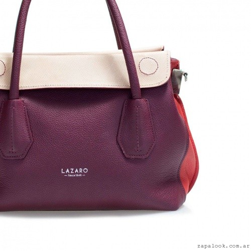 cartera bordo y crudo Lazaro invierno 2016