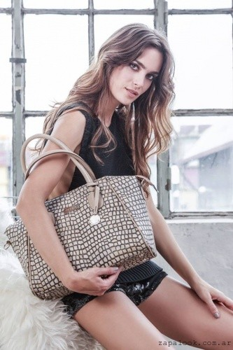 cartera marron otoño invierno 2016 - the bag belt