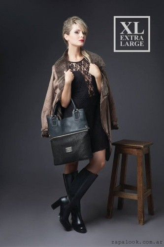 cartera negra XL Extra Large invierno 2016