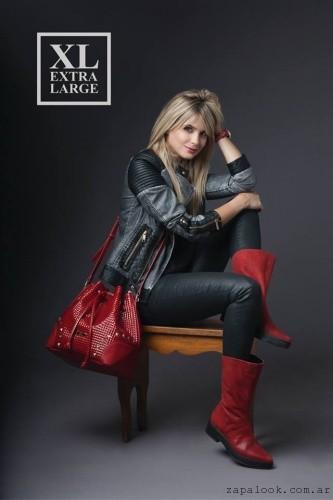 cartera roja XL Extra Large invierno 2016